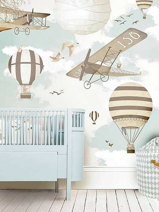 Instead of a new paint color, how about a new wallpaper design? These eight kid-friendly wallpaper designs are long-lasting, fun and stylish.
