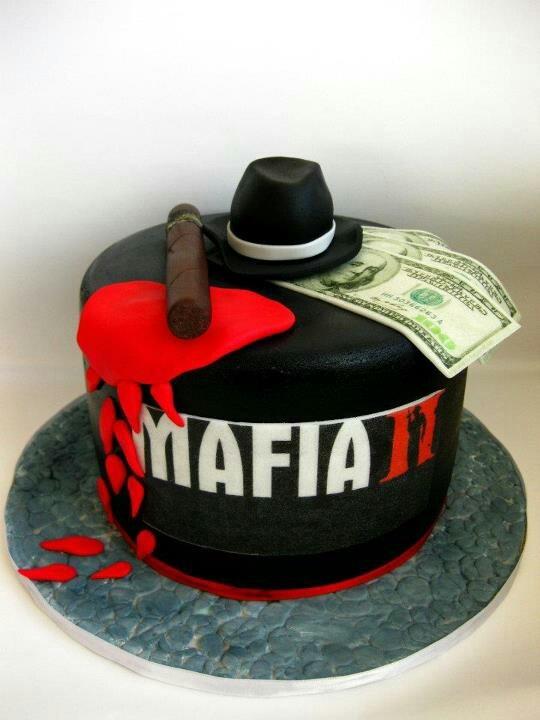 Mafia Cake Cake Obsession Pinterest Mafia And Cakes