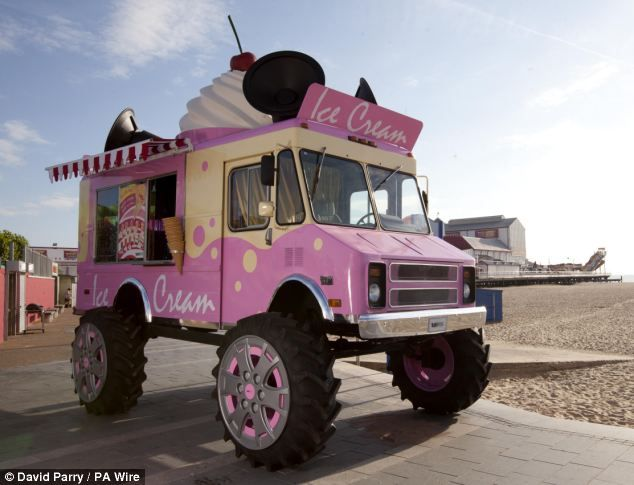 Monster truck ice cream van set to tour Britain's most popular ...