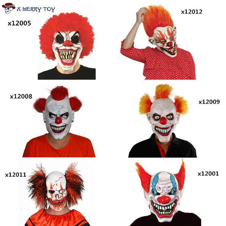 Free Shipping Joker Clown Costume Mask Creepy Evil Scary Halloween Clown Mask //Price: $29.70 & FREE Shipping //     #DRONES