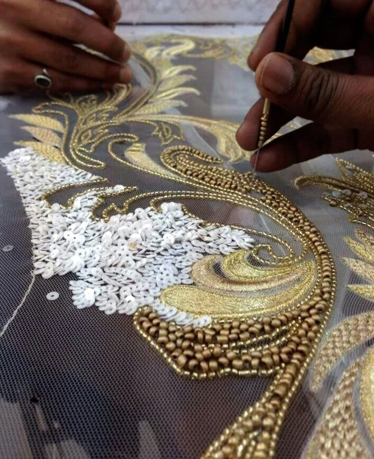 Stunning Beadwork - Louis Vuitton