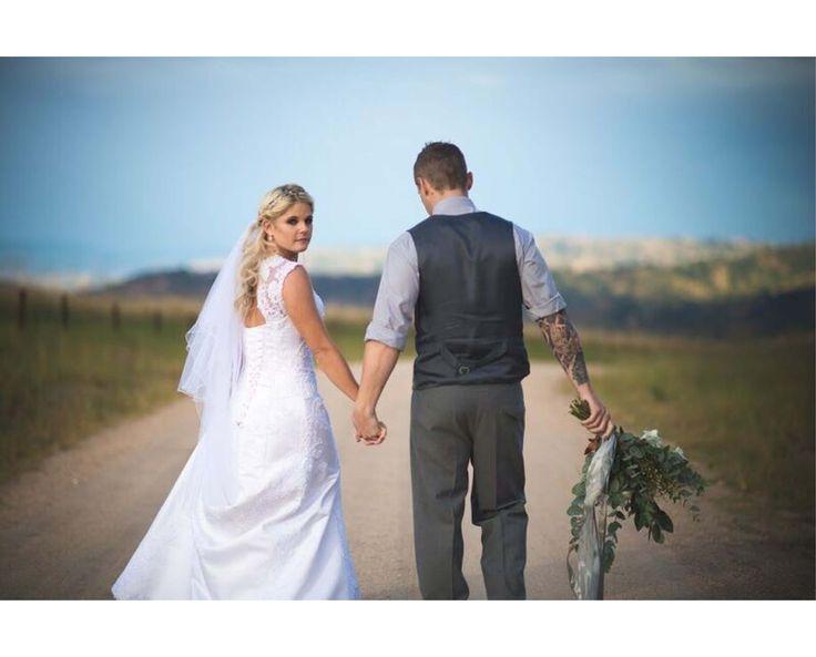 Real wedding: Tina