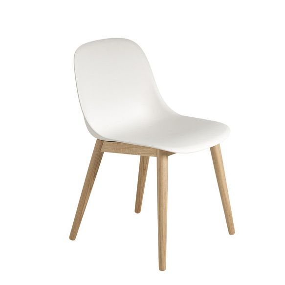 fiber side chair wood
