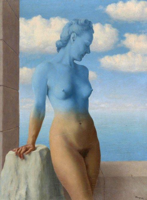 La magie noire, 1945, René Magritte, Musée Magritte
