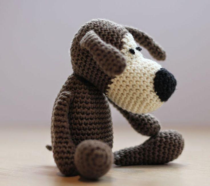 Mis obsesiones de hoy: Un perrito amigurumi para Javier ...