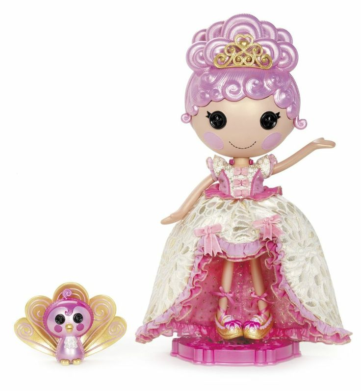 Lalaloopsy Limited Holiday Collector Edition Goldie Luxe Doll Sewn on February 5