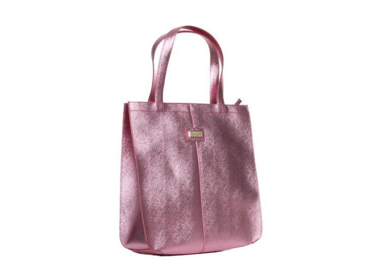 Dámská kožená růžová kabelka GUESS - 100061954 | obujsi.cz - dámská, pánská, dětská obuv a boty online, kabelky, módní doplňky
