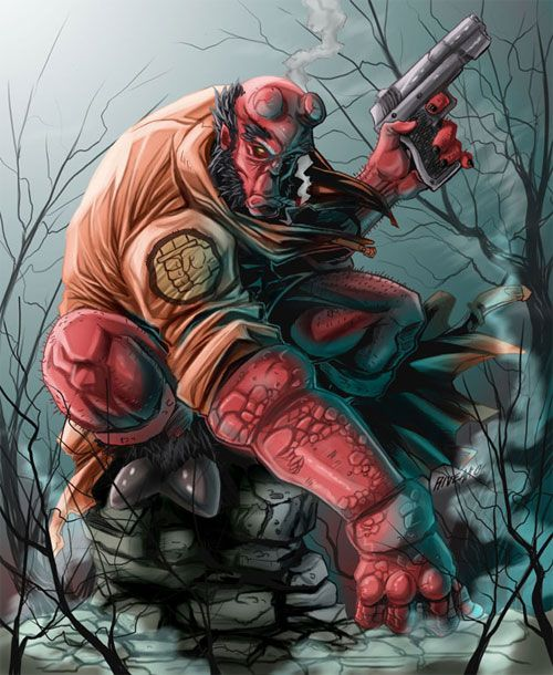 The hellboy character had made such an impact to its readers that a movie interpretation of the character has been made. Description from naldzgraphics.net. I searched for this on bing.com/images