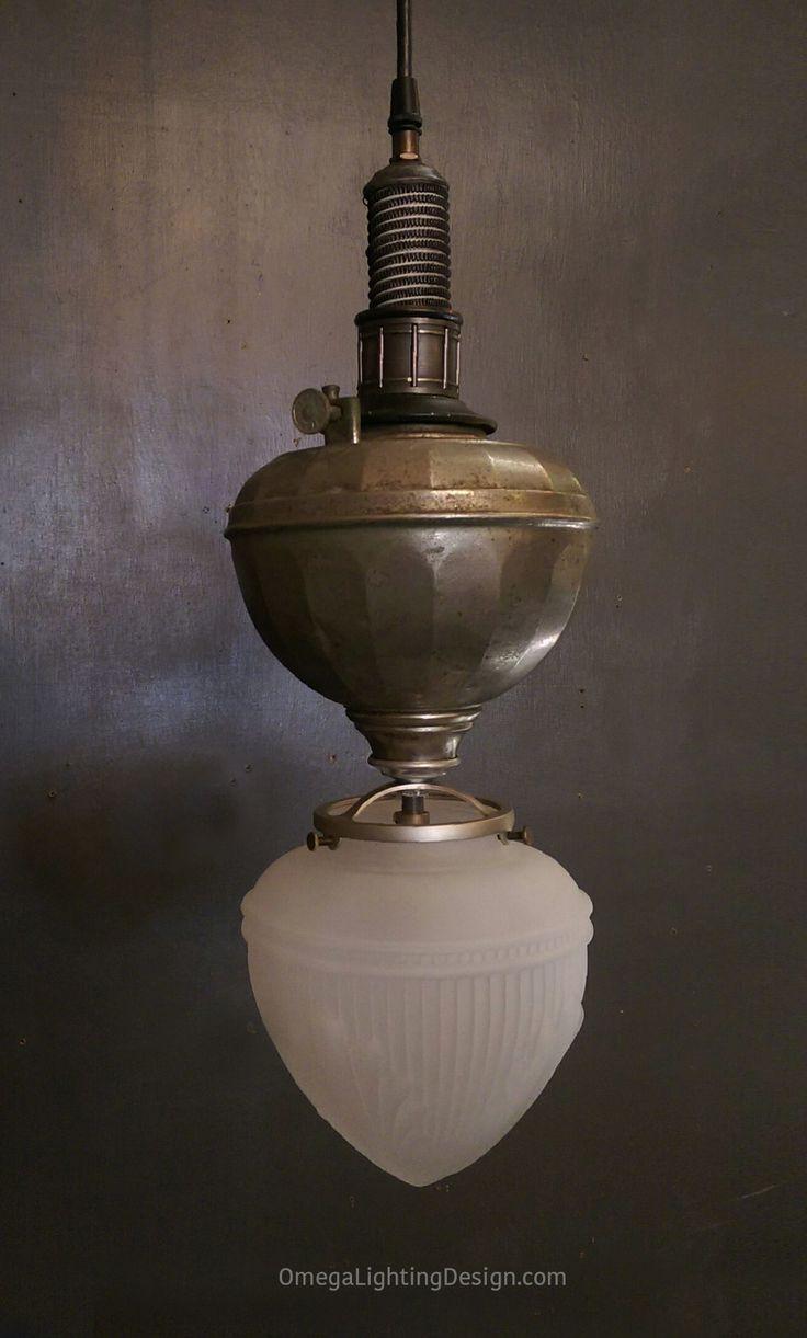 Farmhouse pendant lighting - A Shop Favorite No Two Are Exactly The Same Repurposed Kerosene Lamps And Machine Farmhouse Pendant