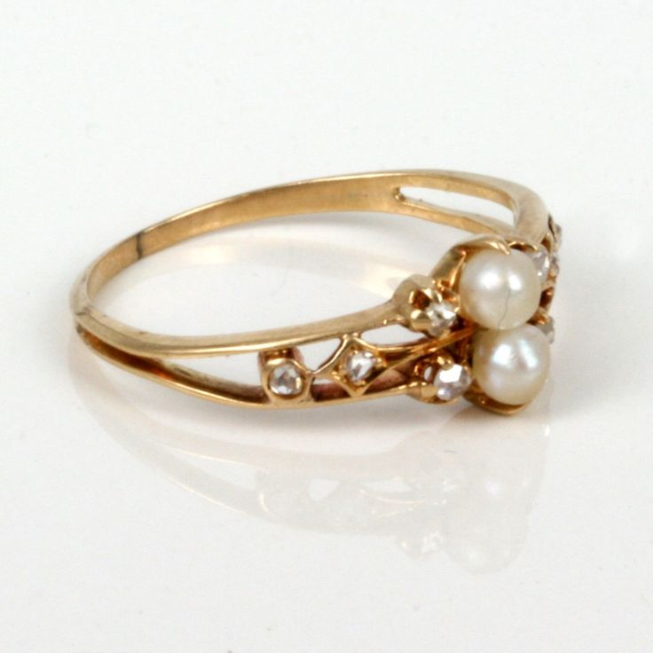 Best 25 Pearl engagement rings ideas on Pinterest