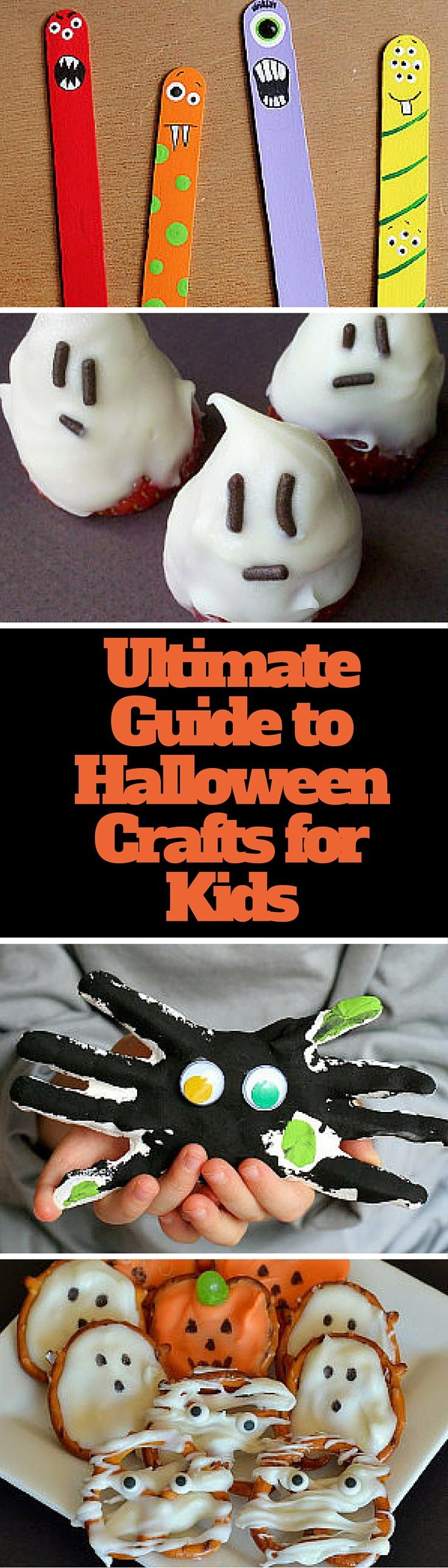 Ultimate Kids Halloween Crafts Guide: 100+ Spooky Crafts and Homemade Costumes for Kids + 100 More Halloween Crafts for Kids   AllFreeKidsCrafts.com