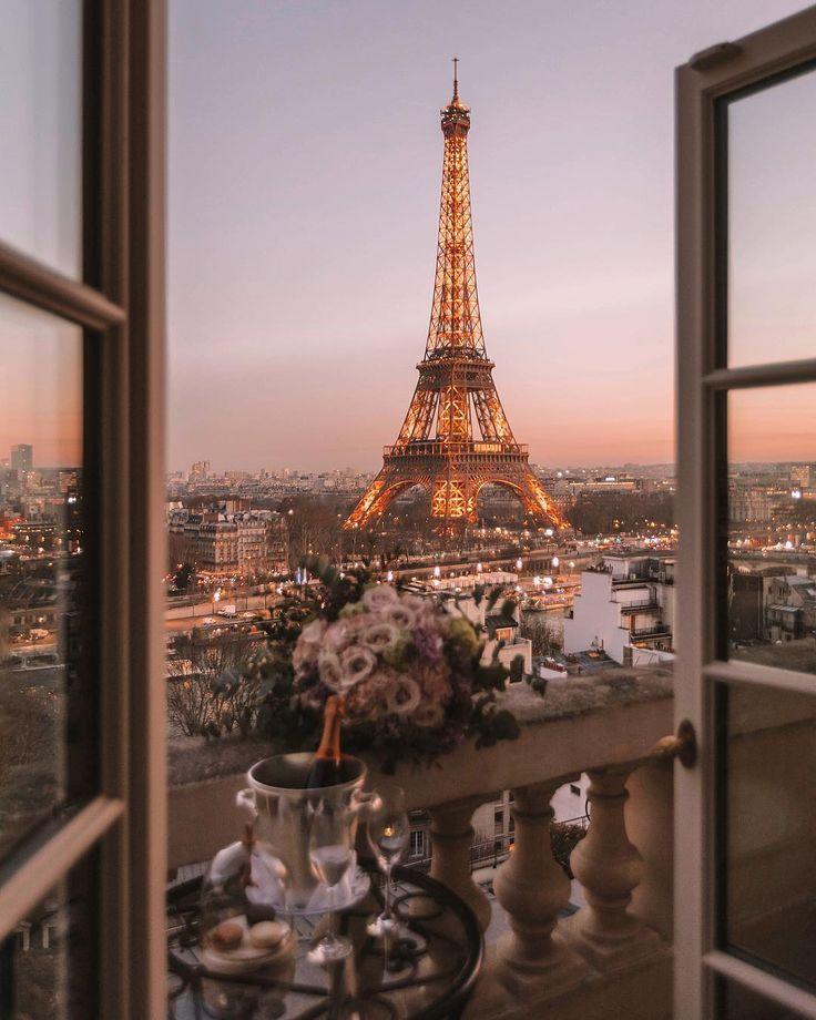 Eigentlich ist Paris das schönste in der Abenddä…