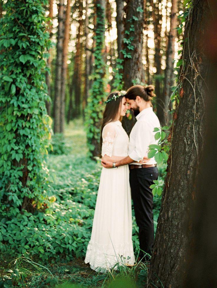 forest summer wedding лесная свадьба
