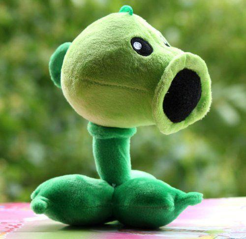 Plants Vs Zombies Garden Warfare Plush Toy Pea Shooter Pvz Soft Doll Angeller Marquer Mello