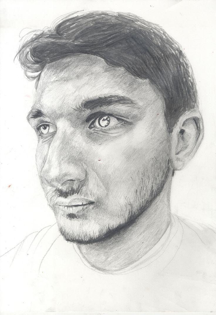 pencil portrait by Martha Williams