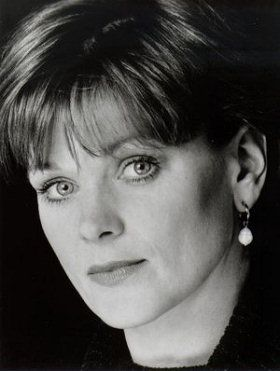 Samantha Bond - Miss Moneypenny in GoldenEye, Tomorrow Never Dies, The World Is Not Enough, and Die Another Day.