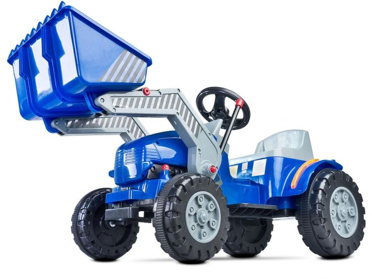 Toyz Bulldozer niebieski-295511 - Zdjęcie 2