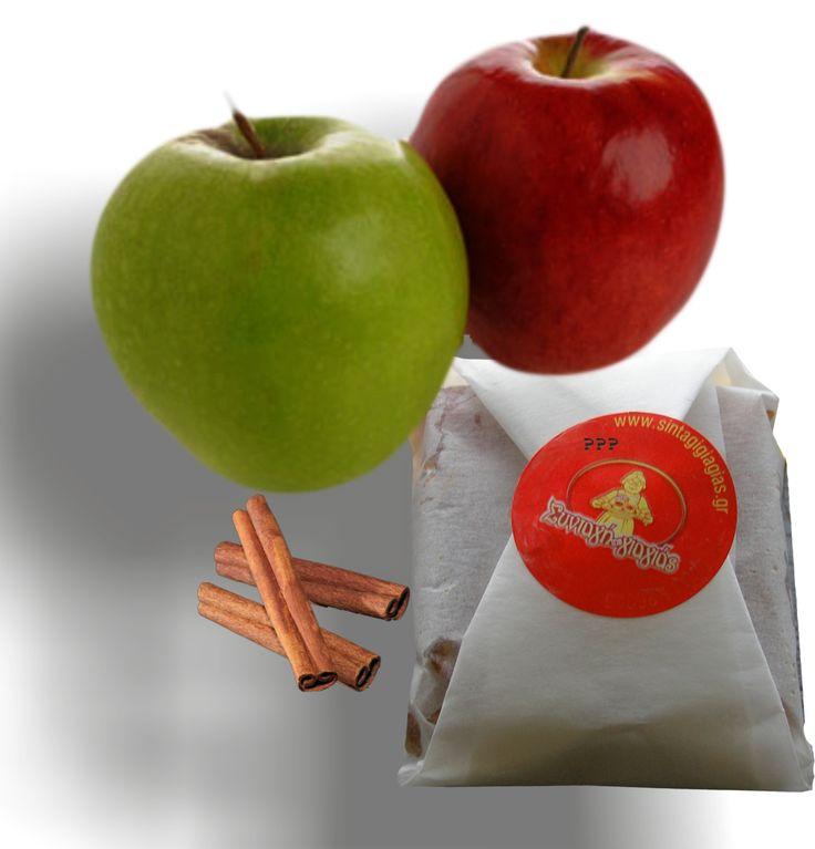 Η συνταγή βρίσκετε στο στάδιο της τελειοποίησης, απομένει η επιλογή της συσκευασίας. Πρόκειται για ένα γλυκό – σνακ- επιδόρπιο, ένα καθαρά τοπικό και απόλυτα υγιεινό προϊόν από επιλεγμένες ποικιλίες μήλων Νάουσας.  Tο όνομα αυτού ????????????? — με τους Ειρήνη Ζαρκάδα και Θοδωρής Ντόντης στην τοποθεσία Sintagigiagias Naousa