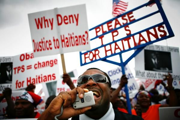 Trump Administration Is Forcing 59,000 Haitians Out of the United States. What a cruel man! And he acts in our names!