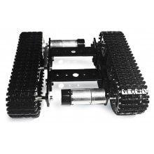 SZDoit Mini T100 Aluminum Alloy RC Tank Chassis DIY Kit