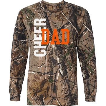 "Cheer Dad Camo Shirt - It's ""Bow"" Season... Love It!"