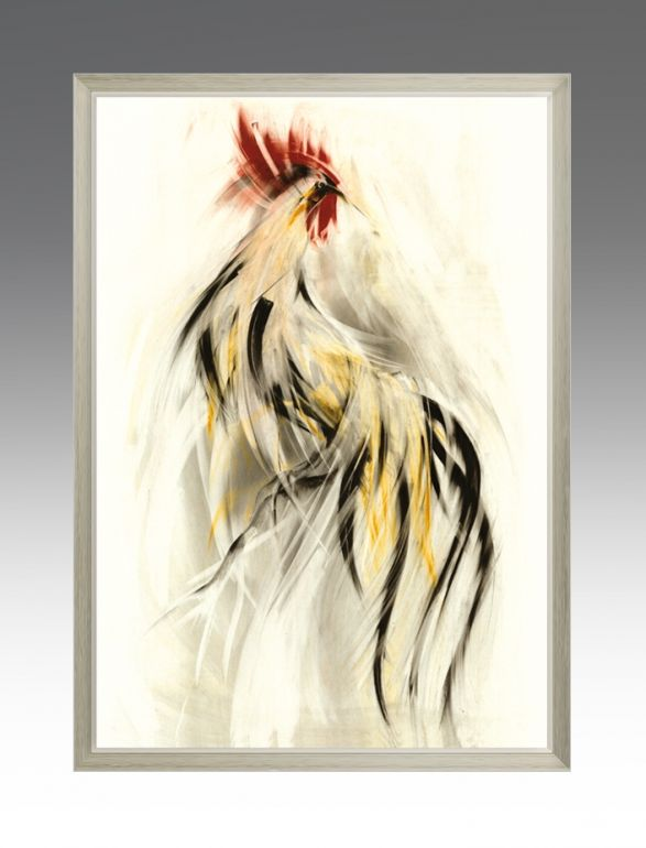Gold Rooster. Chic Series