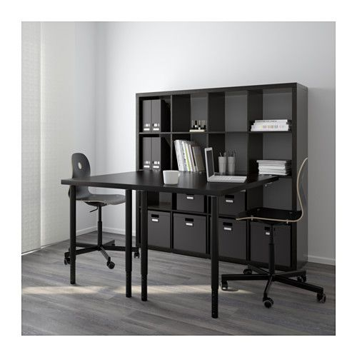 25 best ideas about kallax desk on pinterest ikea living room storage ikea kallax shelf and. Black Bedroom Furniture Sets. Home Design Ideas