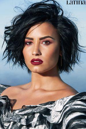 Demi Lovato Latina Magazine June/July 2016 Exclusive Outtakes