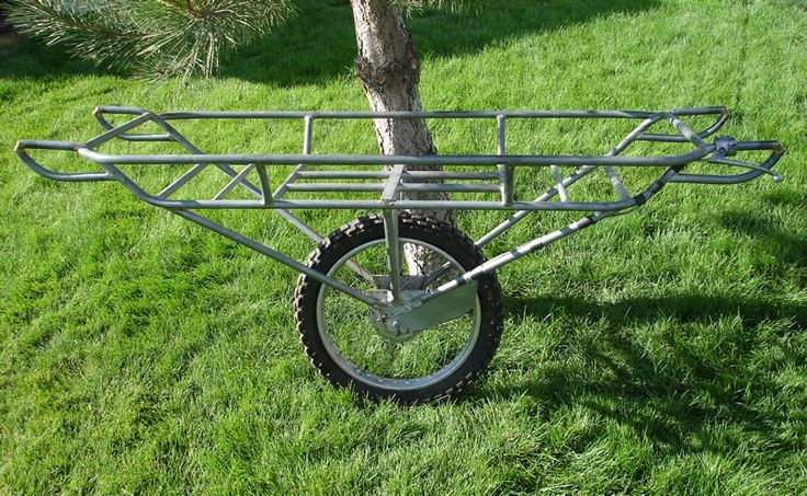 Game Carts for a BOV alternative/compliment.  Note this one can maybe attach to a bicycle too like a trailer.