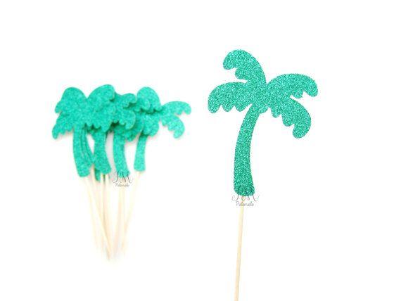 SIL VOUS PLAÎT NOTE *** Si vous avez besoin de votre commande durgence ou à une date précise, sil vous plaît menvoyer un message avant de passer votre commande. Je vous remercie !  ~♥~♥~♥~♥~♥~♥~♥~♥~♥~♥~♥~♥~  Les palmiers mesurent environ 8 x 6,5 cm. Cette liste est pour un ensemble de 12 décorations à cupcake palm tree.  * Sil vous plaît note * le dos de la Cupcake a est blanc Uni.  Si vous avez besoin dune quantité différente de garnitures ou dune autre couleur sil vous plaît envoyer un…