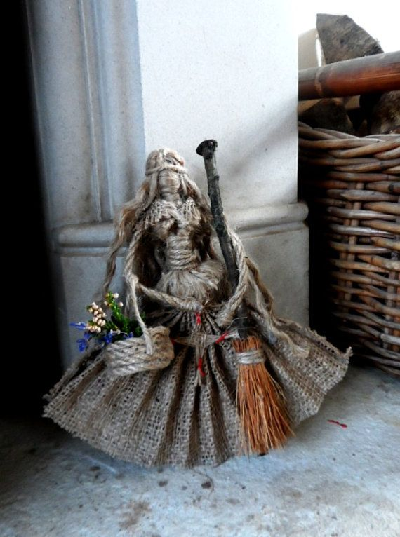 Pagan Hedge Witch Brighid Goddess Doll Wall by PositivelyPagan                                                                                                                                                                                 More