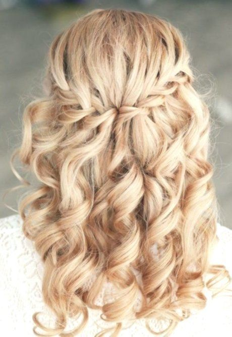 Festive hairstyles long hair open to lure - #Blonde #Braids #Caramel #Color #F ... -  #blonde...