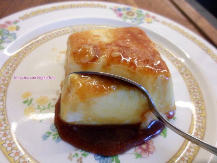 Creme caramel furbo, buonissimo!!!