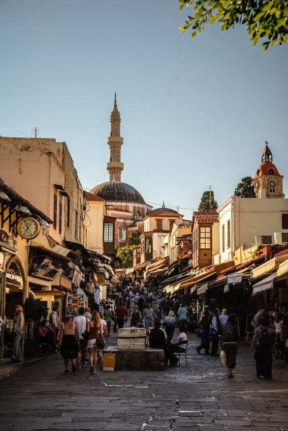 Gamla stan i Rhodos stad, Grekland