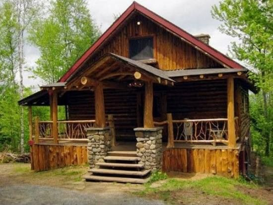 1960 best cabins i like images on pinterest log cabins for Craftsman log homes