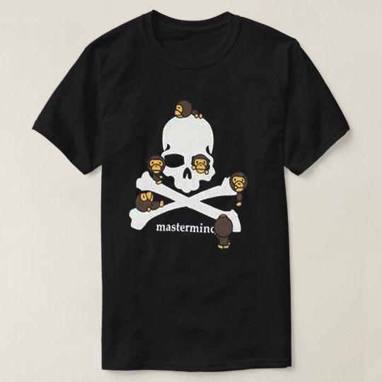 Skull Monkey Halloween Custom Shirts