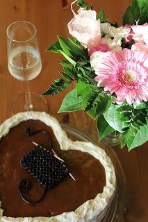Silmukoita ja suklaakakkua: Onnea uudelle blogille!