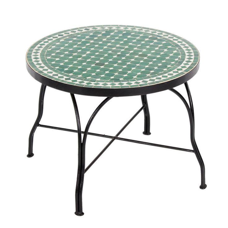 Details Zu Marokkanischer Couchtisch 60cm * 27 Farben * Orientalischer  Mosaiktisch Tisch L
