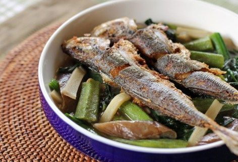 Dinengdeng with Fried Fish Recipe