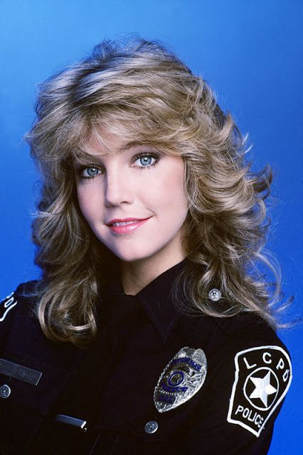 Heather Locklear as Stacy Sheridan in TJ Hooker