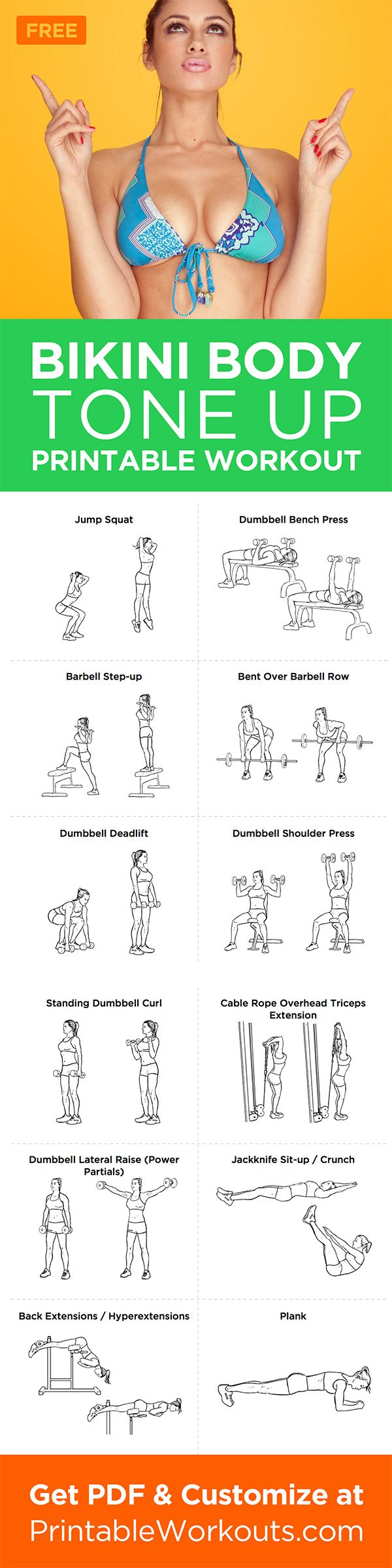 This workout is going to focus on all those trouble spots effectively.