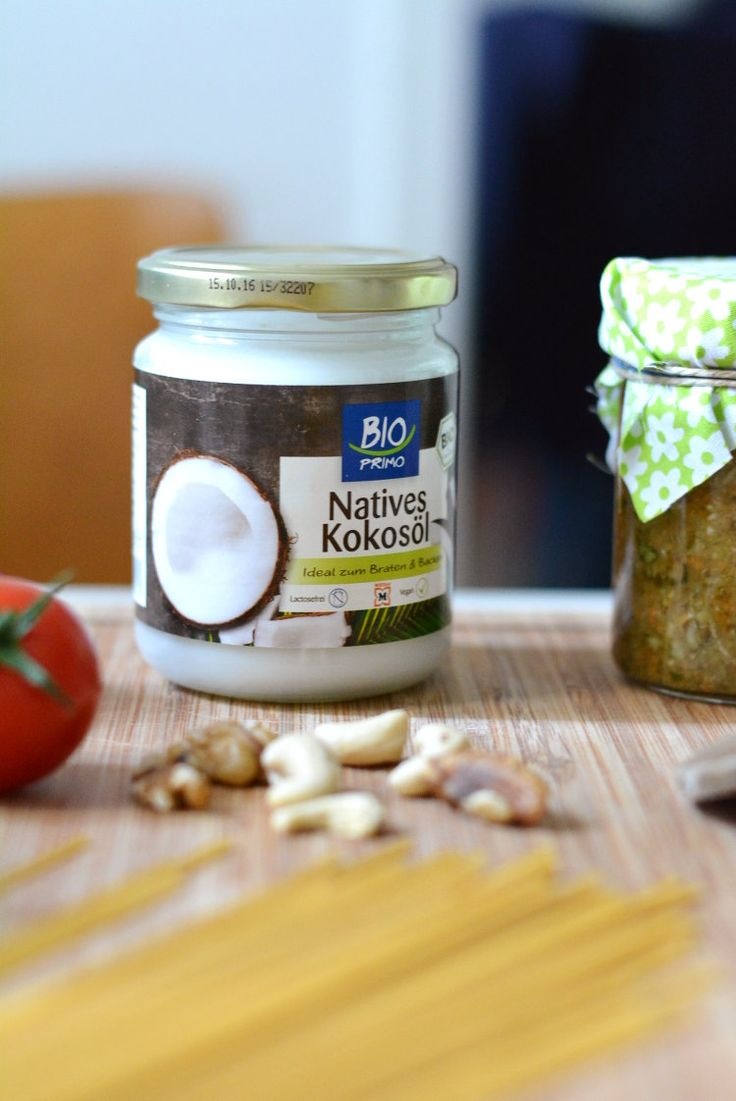 Healthy Food: Coconut Oil - gesunde Ernährung Kokosöl