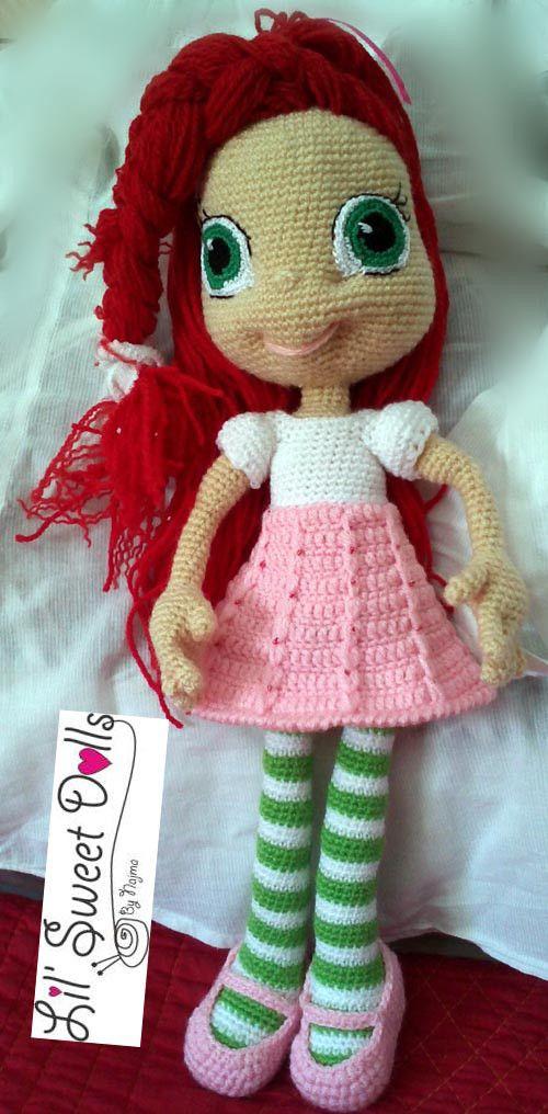 boneca de brinquedo amigurumi crochet