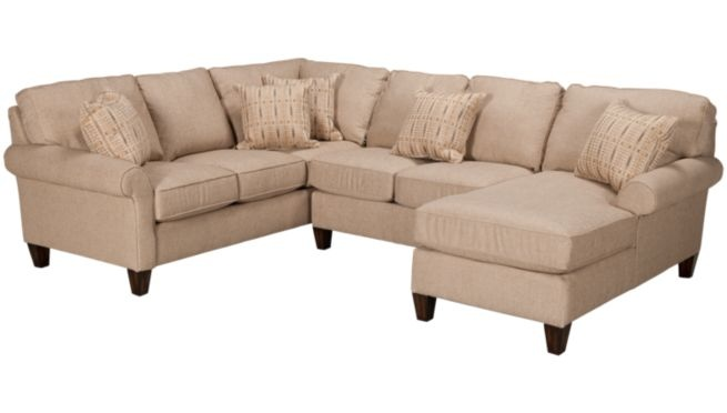 Flexsteel Westside 3 Piece Sectional Sectionals For
