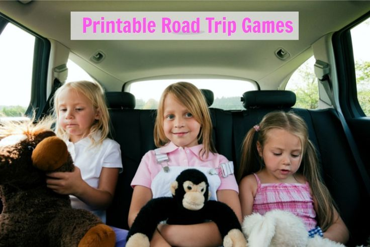 These Printable Road Trip Games will keep your kids occupied while traveling this summer! Also great for keeping your kids entertained in restaurants!