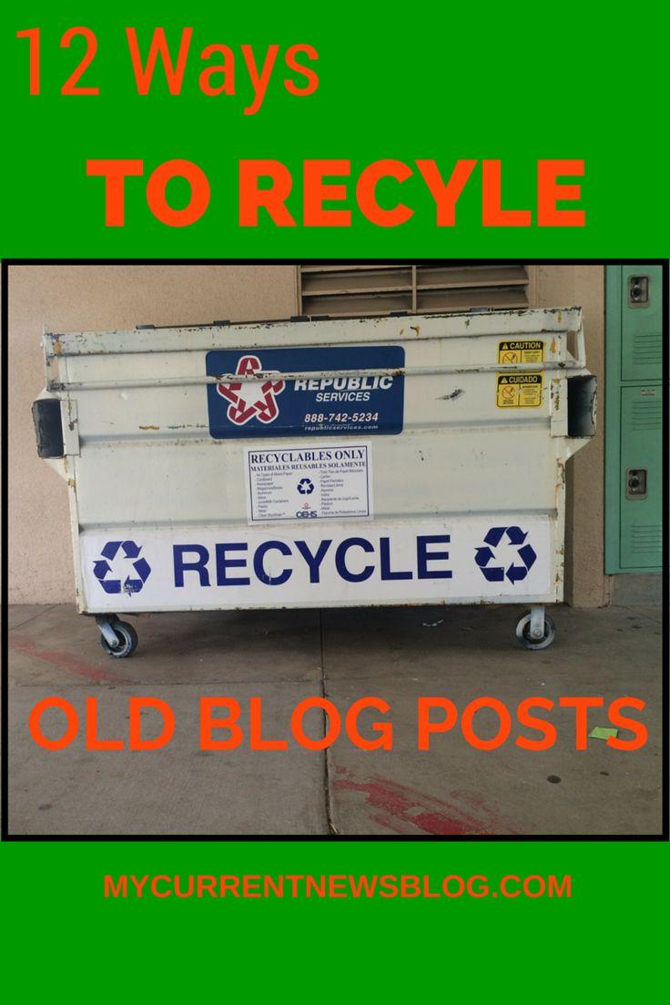 Get new #blog traffic to old blog posts. Click to see how. Mycurrentnewsblog.com #blogging #bloggingtips