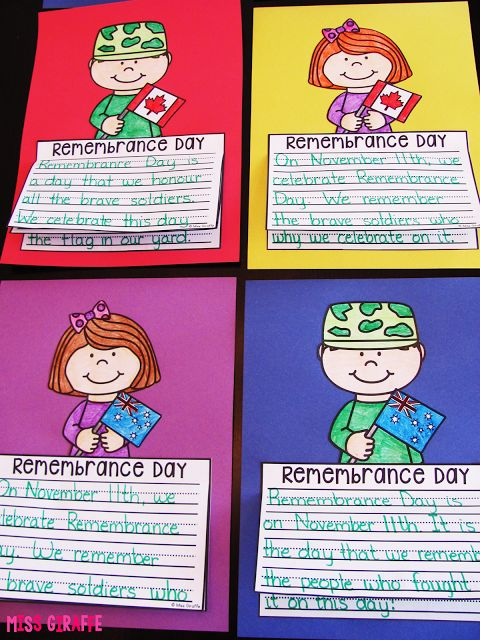 Remembrance Day writing craft activities that are super cute and fun! Canada kids Australia kids and more!