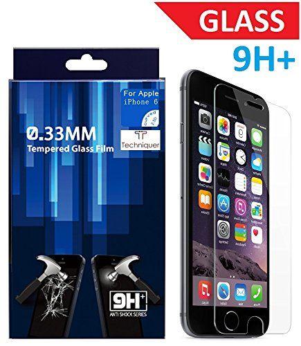 "iPhone 6 HD Tempered Glass Screen Protector Kit[4.7""],0.33mm,9H,Touch Accurate,Premium Japan Glass,Anti-Scratch,Anti-Glare,Fingerprint-Proof,Water Resistant! AT&T Verizon [Lifetime Warranty] Techniquer http://www.amazon.com/dp/B00OT019ZW/ref=cm_sw_r_pi_dp_QMVPvb1QHKWCR"