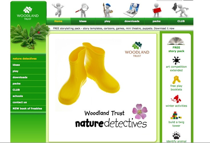 A set of worksheets from the Good Seed Guide, produced by the Tree Council. Get kids outdoors exploring with this activity from the Woodland Trust's nature detectives website.
