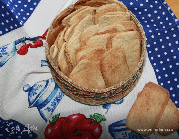 Цельнозерновое печенье а-ля крекеры Грэма (Graham Crackers)